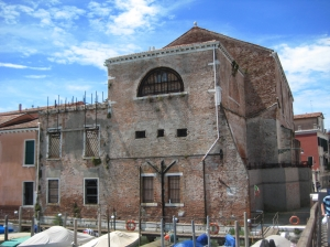 Exterior of Sant'Anna