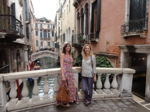 Vonda & Kathy in Venice