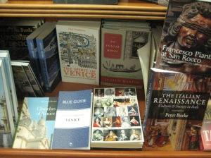 ABWIV in Libreria Studium in Venice, this summer