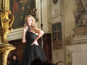 Liesl Odenweller performs