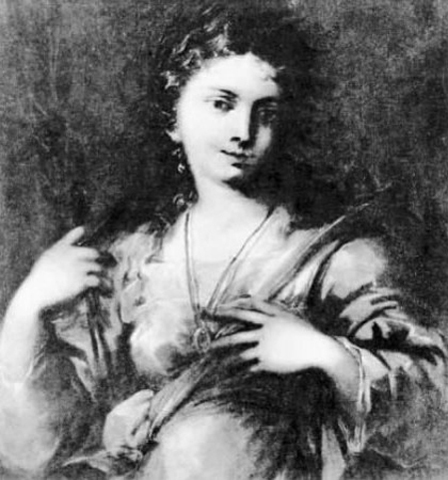 Believed to be a portrait of SCS