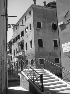 The Palazzo Sullam in the Ghetto, which may have been Sarra's home