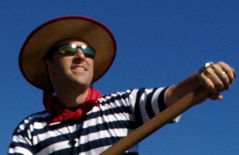 stripes and sunglasses