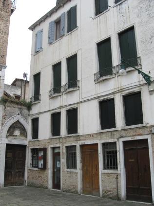 Palazzo Zaguri before restoration