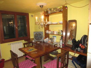 My kitchen and dining room